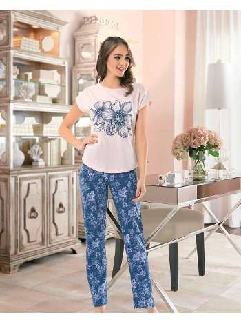 Bayan Kolsuz Şortlu Pijama NBB 66265