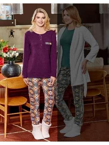 Bayan Pijama Takım Dowry 09-762