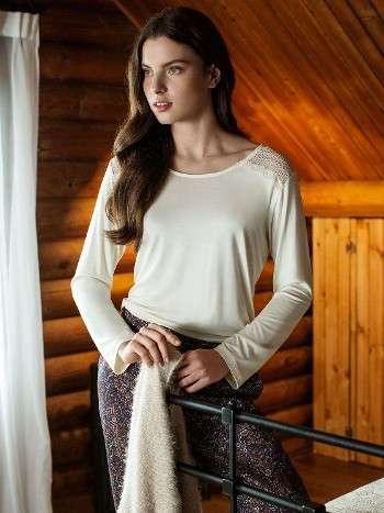 Pijama Takımı 3 Lü Takım Hırkalı Miss Loren 1403