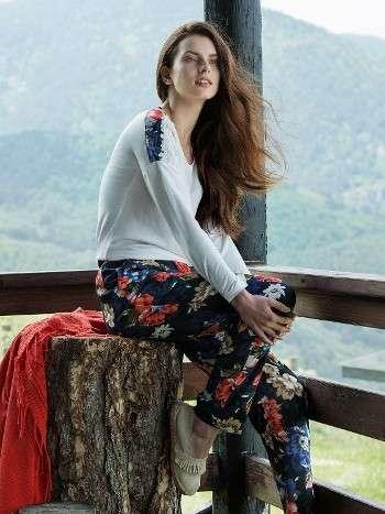Pijama Takımı Hırkalı 3 Lü Takım Miss Loren 1400