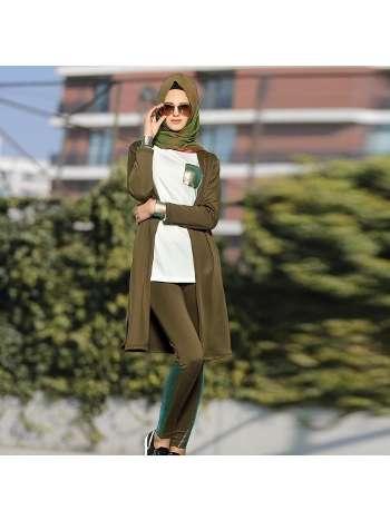 Bayan T-Shirt Pardesü Pantolon Takım Gallipoli 19564