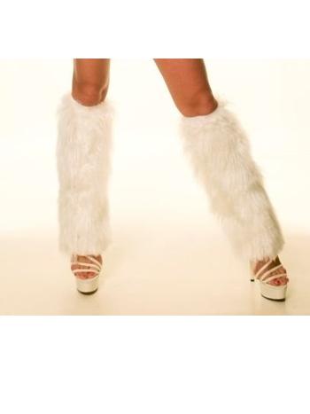 La Blinque Bayan Tüylü Bacaklık 5008 Beyaz