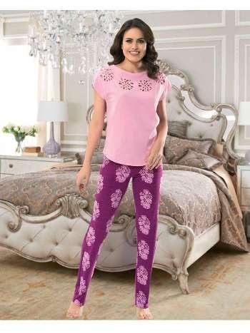 Bayan Uzun Alt Pijama NBB 66253