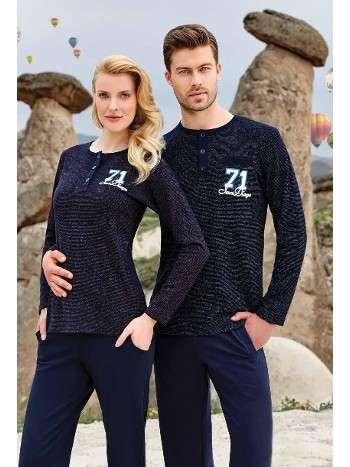 Bayan Uzun Kollu Pijama Takımı Berrak 367