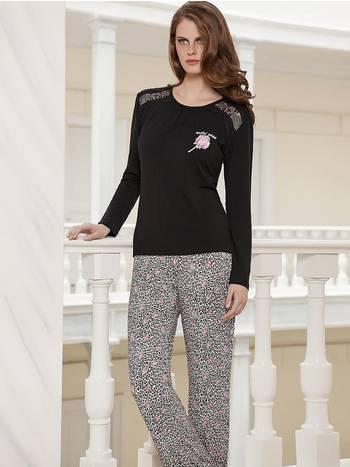 Berrak Bayan Pijama Takımı Siyah
