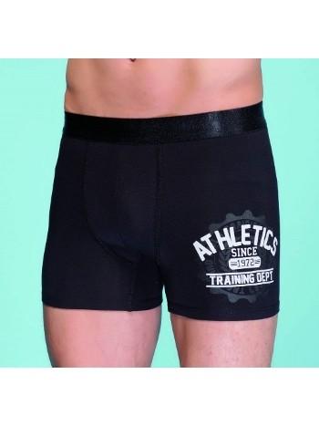 Berrak Erkek Athletic Baskılı Boxer 1105