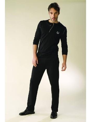Bondy Erkek 2 Li Koton Pijama Takım 7002