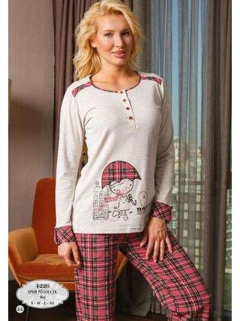 Bone Club 4226 Bayan Pijama Takım