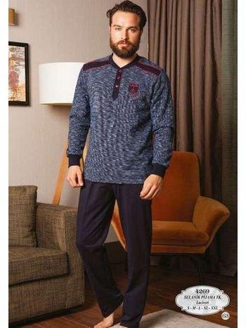Bone Club 4269 Selanik Kırçıllı Erkek Pijama Takımı