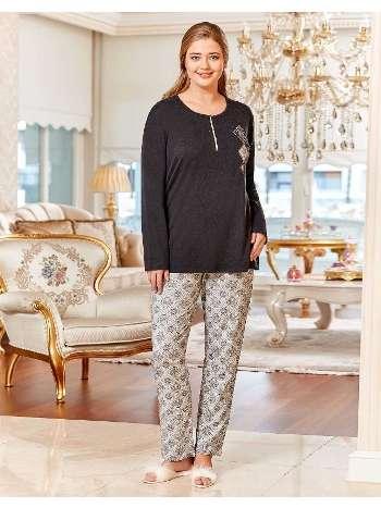 Büyük Beden Pijama Takım Dowry B09-01