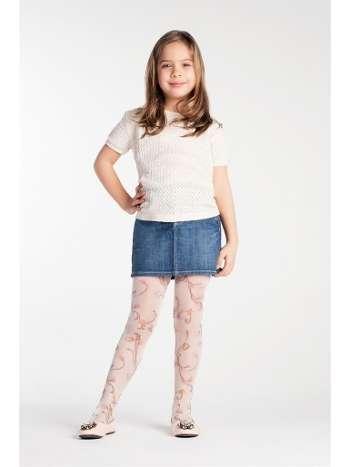 Daymod Caroline Desenli Külotlu Çocuk Çorabı
