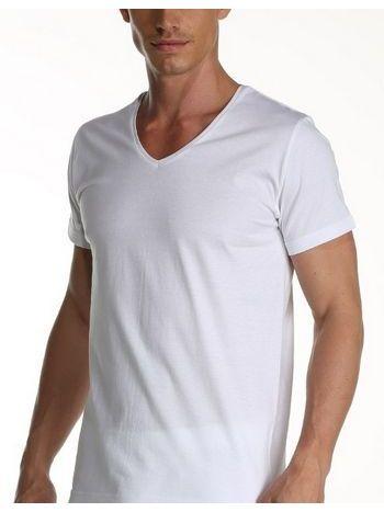 Çift Kaplan Süprem V Yaka T-Shirt 952