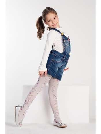 Daymod Çiğdem Desenli Külotlu Çocuk Çorabı