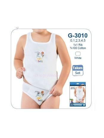 Çocuk Baskılı Atlet Slip Takım Öztaş G3010