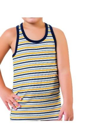 Çocuk Çizgili Rambo Atlet Öztaş A3017