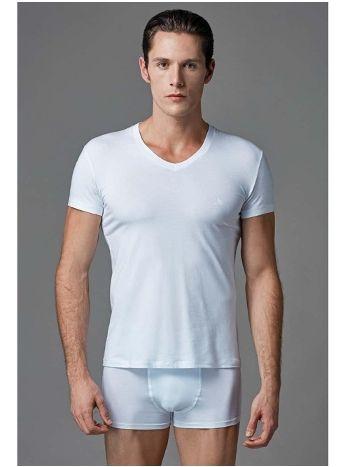 Compact V Yaka T-Shirt 2 li Eros ERS 005