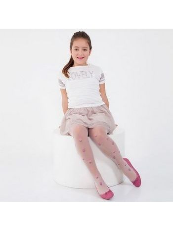 Daymod Cupcake Tül Çocuk Külotlu Çorap
