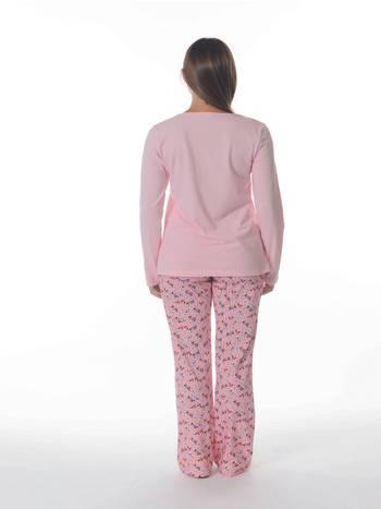 Dagi Modal Pijama Takımı Dgk268 Pembe