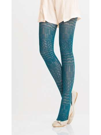 Daymod Daisy Desenli Külotlu Çorap