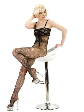 La Blinque Dantelli Vücut Çorabı 972