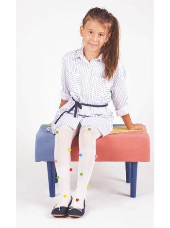 Daymod Ponponlu Çocuk Külotlu Çorap D2142026