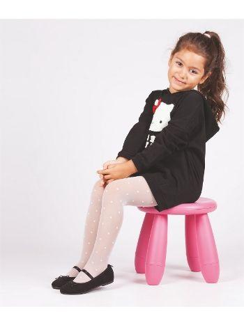Daymod Puantiye Çocuk Külotlu Çorap D2121023