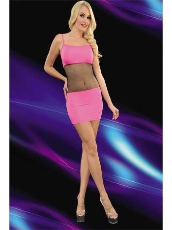 La Blinque Dekolteli Mini Elbise 6094
