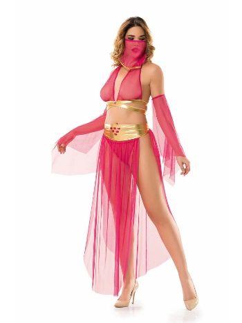 Denizgülü Fuşya Dansöz Seksi Kostüm 6335
