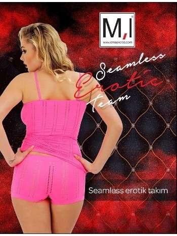Dikişsiz Erotik Takım Emay 5136