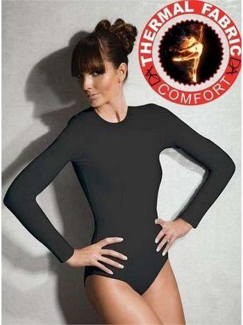 Doreanse Viloft Bayan Uzun Kol Termal Body 12455