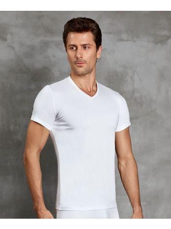 Doreanse Erkek V-Yaka Kısa Kollu V-Neck T-Shirt 2890