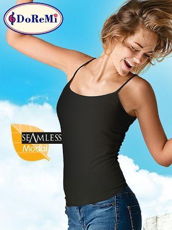 DoReMi Seamless Modal İnce Askılı Tshirt