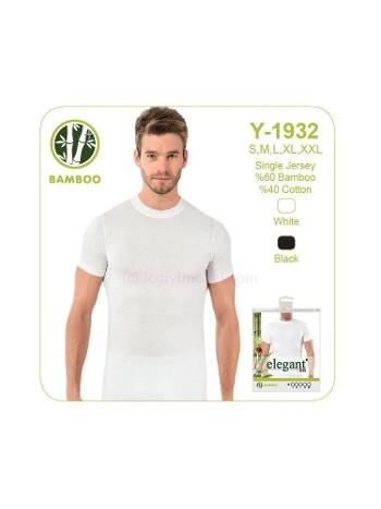 Elegant Erkek Bambu O Yaka Öztaş Y1932