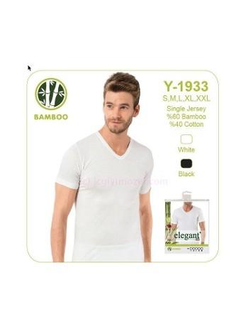 Elegant Erkek Bambu V Yaka Öztaş Y1933