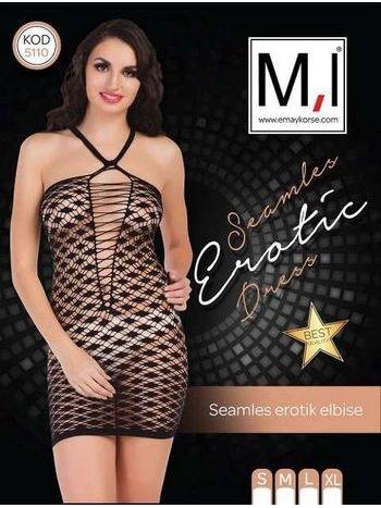 Emay 5110 Dikişsiz Sexy Elbise