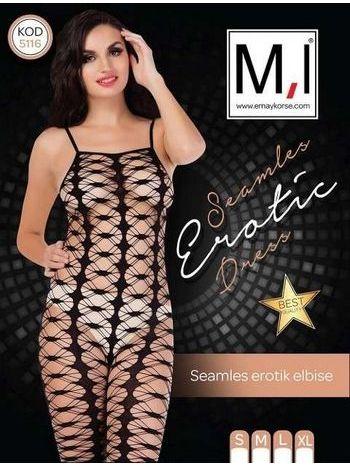 Emay 5116 Dikişsiz Erotik Elbise