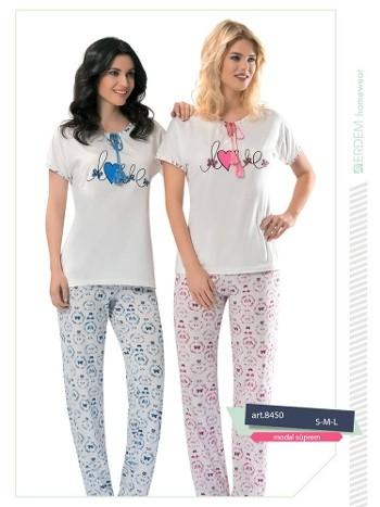 Erdem 8450 Bayan Pijama Modal Süprem