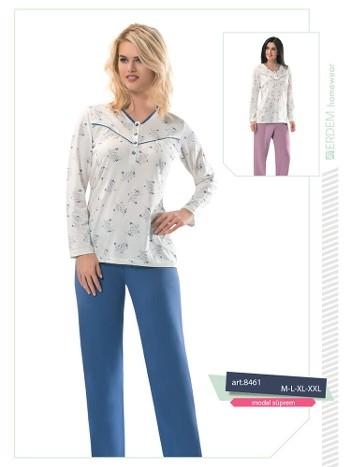 Erdem 8461 Bayan Pijama Modal Süprem