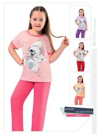 Erdem 9243 Kız Çocuk Pijama Süprem
