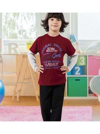 Erkek Çocuk Pijama Takım Hmd 5353