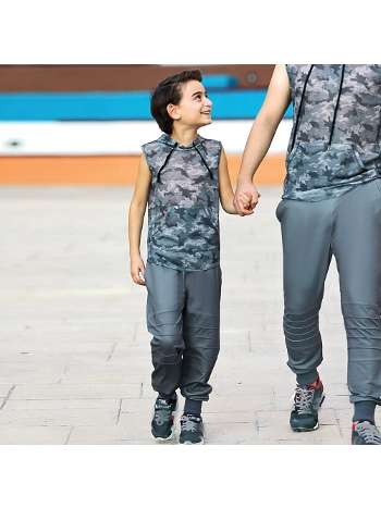Erkek Çocuk T-Shirt Pantolon Takım Gallipoli 9714