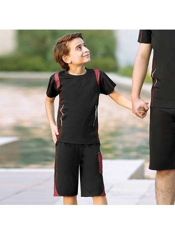 Erkek Çocuk T-Shirt Şort Takım Gallipoli 9703