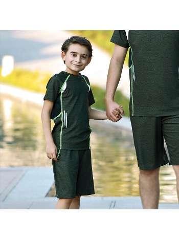 Erkek Çocuk T-Shirt Şort Takım Gallipoli 9743