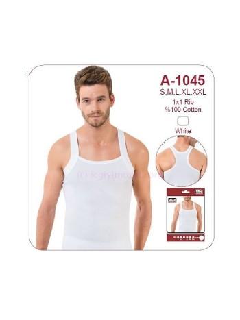 Erkek Geniş Biyeli Beyaz Sporcu Atlet Öztaş A1045