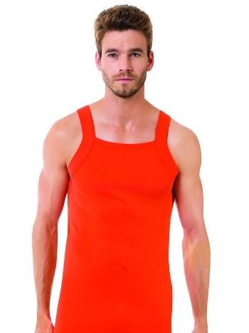 Erkek İnce Askılı Ribana Atlet Renkli Öztaş A1031