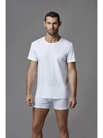 Erkek Penye O Yaka Kısa Kol 2 Li T-Shirt Dagi D1160