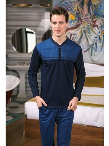 Erkek Pijama Takımı Süprem 2Li Takım Yeni İnci EPJ632