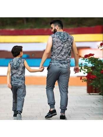 Erkek T-Shirt Pantolon Takım Gallipoli 9654