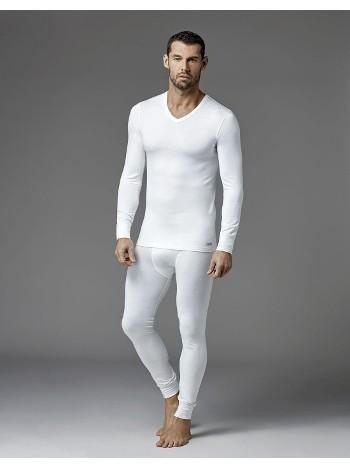 Erkek Termal V Yaka Uzun Kol T-Shirt Dagi D6035