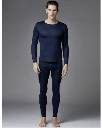 Eros ES 1452 Erkek Termal O Yaka Uzun Kol T-Shirt